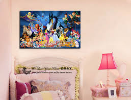 Ebay Home Decor Australia by 30x50x3cm Disney Characters Stretched Canvas Prints Wall Kids Art