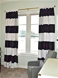 Blue Vertical Striped Curtains by Gold And White Striped Curtains Curtains Sand And Sisal Gold White