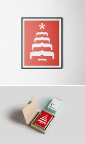 Ascii Symbols Christmas Tree by Typography Christmas Cards That Cleverly Use Characters To Create