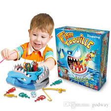2018 New Fish Trouille Great White Shark Board Game Children Family Kids Party Interactive Fun Toys For Collection And Decoration From Godway