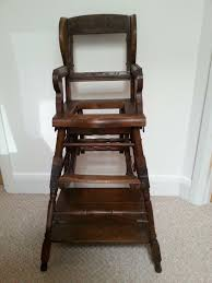 HIGH CHAIR /ANTIQUE | In Holywood, County Down | Gumtree