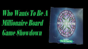 Who Wants To Be A Millionaire Board Game Showdown