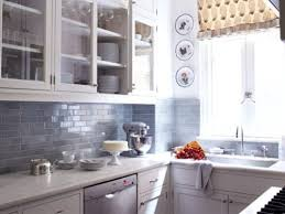 Grey Kitchen Tile Backsplash