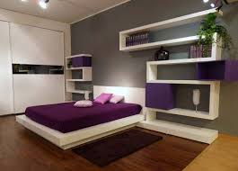 Photo Gallery Amazing Combination Dark Purple Bedroom