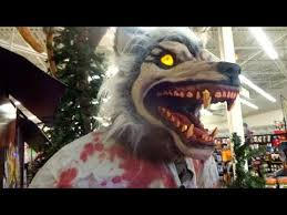 Spirit Halloween Animatronics 2014 by Spirit Halloween Limb Ripper Werewolf Animatronic Youtube