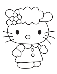 To Print Cute Kitty Coloring Pages 48 For Free Kids With