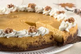 Pumpkin Gingersnap Cheesecake Bars by Pumpkin Cheesecake With Gingersnap Crust Recipe King Arthur Flour