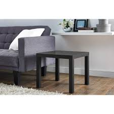 Small Living Room Furniture Walmart by Signature Design By Ashley Coylin Brushed Nickel Square Cocktail