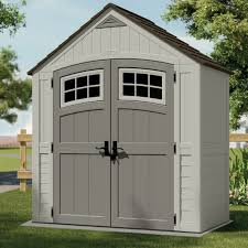 Rubbermaid Gable Storage Shed 5 X 2 by Outdoor U0026 Garden Suncast Sheds 5 Ft W X 3 Ft D Resin For Outdoor