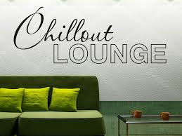 decals stickers vinyl wandtattoo chillout lounge