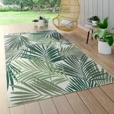 in und outdoor teppich palmen design