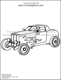 Old Muscle Cars Coloring Pages Classic Car Color Rod Gallery Ideas For Adults Full Size