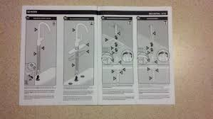 Removing Moen Kitchen Faucets Instructions by Chrome Water Ridge Pull Out Kitchen Faucet Single Hole Handle