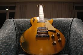 My Personal 1972 Gibson Les Paul Deluxe Goldtop Natural Relic