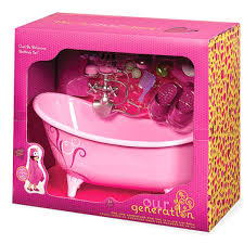 Amazoncom Our Generation Home Accessory Bathtub Toys Games
