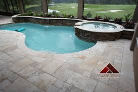 travertine as pool deck 盪 design and ideas