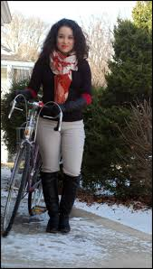 long layered gloves como cycle chic