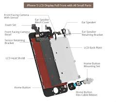 iPhone 5 LCD Screen Assembly Small Parts List