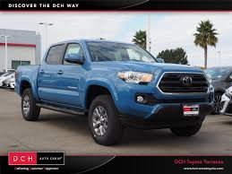 100 Toyota 4 Cylinder Trucks New 2019 Tacoma SR5 Truck Double Cab Cavalry Blue For Sale In