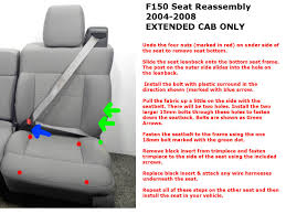 Replacement Seats | Seat Reassembly 2015 2018 Ford F150 Custom Leather Upholstery 19992007 Super Duty Seat Replacement 0408 Driver Bottom Cover Install Youtube Platinum 4x4 35l Ecoboost Review With Video F Series Windshield Best Prices 2005 Wiring Wire Center Images Pickup Truck Seats 2019 Limited Spied New Rear Bumper Dual Exhaust Coverking Genuine Customfit Covers Jump Clever Console Lid And Used Oem Oukasinfo 092014 Clazzio 7201