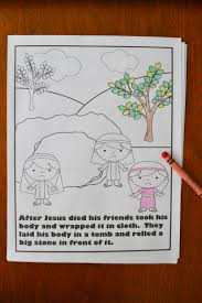 I Will Use Pages From This Easter Story Coloring Book For My Station In The Weeks Leading Up To Probably Also These Pictures