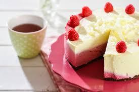 weiße schoko himbeer torte