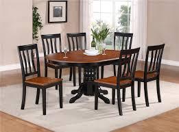 Comfortable Kitchen Table Set For Minimalist Design Oval Dining Laminate Floor Modern