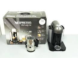 Nespresso Vertuoline Coffee And Espresso Machine Bundle With Plus Black
