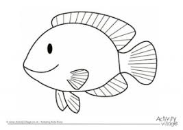 Fish Colouring Page 2