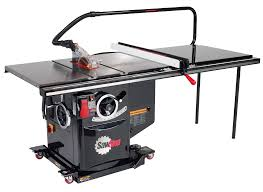 Sawstop Cabinet Saw Outfeed Table by Sawstop Industrial Table Saw For Professionals Sawstop