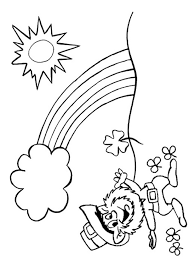 Gallery Of Good Leprechaun Coloring Page 87 For Your Free Book With