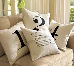 pottery barn inspired number pillows a giveaway tatertots