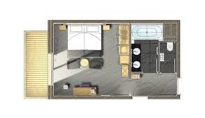 chambre avec salle de bain chambre 2 personnes méribel le kaïla chambre signature
