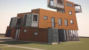 100 House Made From Storage Containers Made Of Shipping Containers Planned For Buffalos