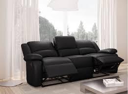canape relax pas cher canapé relaxation 3 places simili cuir detente usinestreet fr