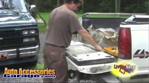 LivingStep Truck Tailgate Step - YouTube