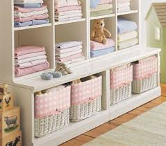Storage Solutions For A Nursery - MomTrends Pottery Barn Kids Cameron Storage Unit Aptdeco Bins Metal Canvas Food Dollhouse Jewellery Cabinet Media Shelf Ebth Nice Collection Copy Cat Chic In Sofas Fabulous Upholstered Bed Chair Birdthemed Nursery While Everyone Else Is Sleeping 3shelf Bookcase Office Desk System Hutch Honey Corkboard Pottery Barn Cameron Sofa Okaycreationsnet