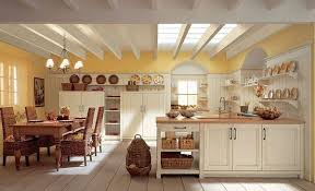 Traditional Solid Wood Kitchen Rustic Style