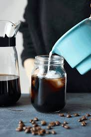 To Serve Dilute Coffee Concentrate With An Equal Part Milk Half And Or Water Sweeten Simple Syrup Top Ice