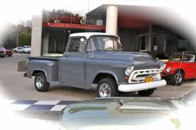 Classic 1957 Chevrolet Apache Pickup For Sale #6488 - Dyler Custom 1950s Chevy Trucks For Sale Your Truck Very Nice 1958 Chevrolet Apache Pick Up Sale 2196038 Hemmings Motor News 1961 C20 Pickup Fleetside On Bat Auctions 1965 C10 For In Bc 350 Small Block Classic Car 1955 In Fulton County 1956 Big Window Short Bed Stepside Hot Rod Network 1959 3100 Stock 139365 Near Columbus Oh 4x4 18097 San Ramon Ca Classiccarscom Cc909448