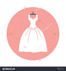 wedding dress holiday clipart
