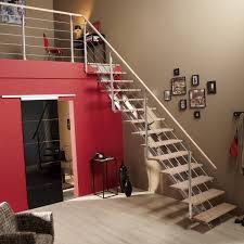 escalier 2 quart tournant leroy merlin escalier quart tournant escatwin structure aluminium marche bois
