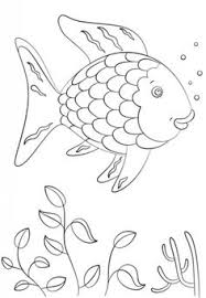 Rainbow Fish Coloring Page From Category Select 20946 Printable Crafts Of Cartoons