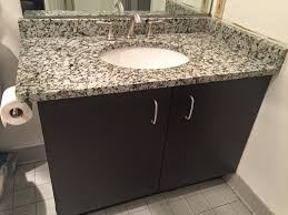 19 Inch Deep Bathroom Vanity Top by Grey Star Granite Bathroom Vanity Backsplash Granite Bathroom