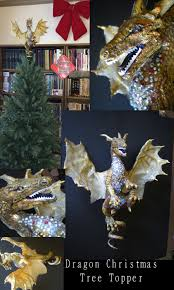 Dragon Christmas Tree Topper By Shadowind