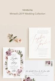 Minted Wedding Invitations All In One Review Letterpress ...