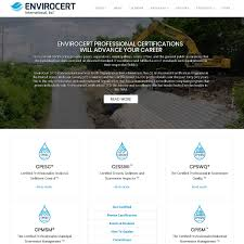 Environmental Website Design Projects Cavallo Agency