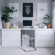 Ikea Malm White Office Desk by 23 Instagram Worthy Ikea Hacks You Should Try This Weekend Malm