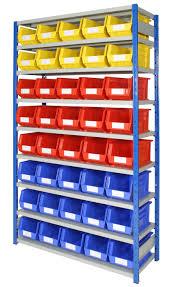 Plastic Bin Storage Racks • Storage Bins