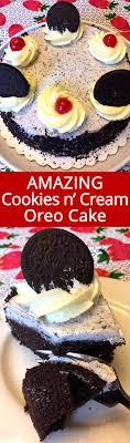 Oreo Cookies and Cream Chocolate Cake Recipe – Melanie Cooks